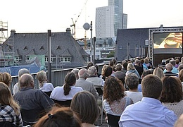 Sommerkino auf dem Dach - The Square