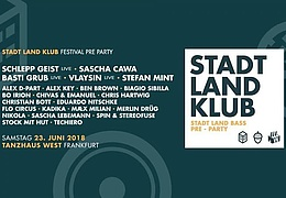 Stadt Land Klub - Festival Pre Party