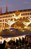 Sternschnuppen Markt Wiesbaden