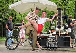 Swing & Ride: Darmstädter Fahrradtour mit Tanzeinlagen