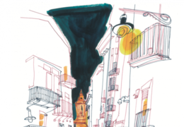 Vor Ort – zeichnend Erzähltes