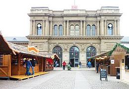 Weihnachtsmarkt am Mainzer Hauptbahnhof