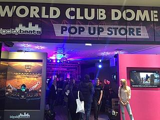 BigCityBeats eröffnet World Club Dome PopUp Store im MyZeil