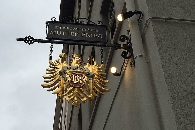 An institution goes - MUTTER ERNST has to close