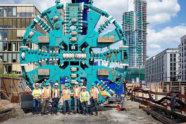 Die Arbeiten für die Stadtbahn ins Europaviertel laufen auf Hochtouren