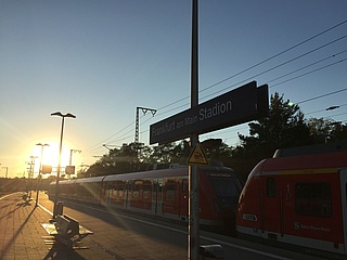 S-Bahn only travels to Frankfurt City after football matches