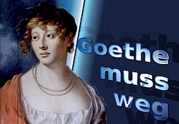 Der Goethe muss weg