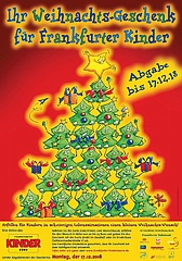 Aktion 'Ihr Weihnachtsgeschenk für Frankfurter Kinder' zum 23. Mal gestartetet
