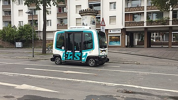 Getting Started in the Future - Test Operation for Autonomous Vehicles in Frankfurt
