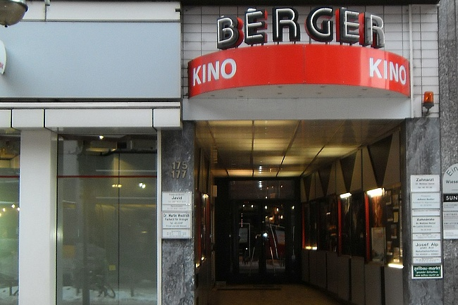 You never go all the way - A new concept for the Berger Kino?