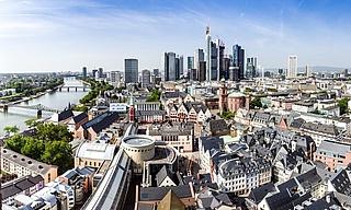 Digitale Stadtführungen durch Frankfurt
