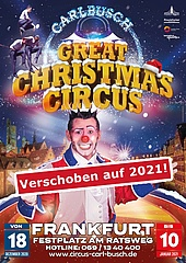 8. Great Christmas Circus auf 2021 verschoben