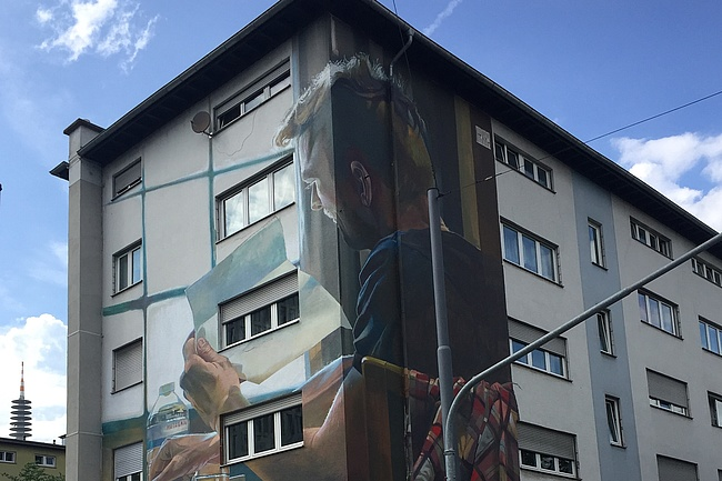 Frankfurt's most beautiful murals