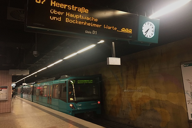 Unterbrechung der Linien U6 und U7 am Wochenende