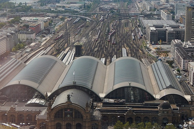 Major closure at Frankfurt Hauptbahnhof in the night from 25 to 26 October