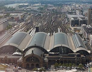 Major closure at Frankfurt Hauptbahnhof in the night from 25 to 26 October