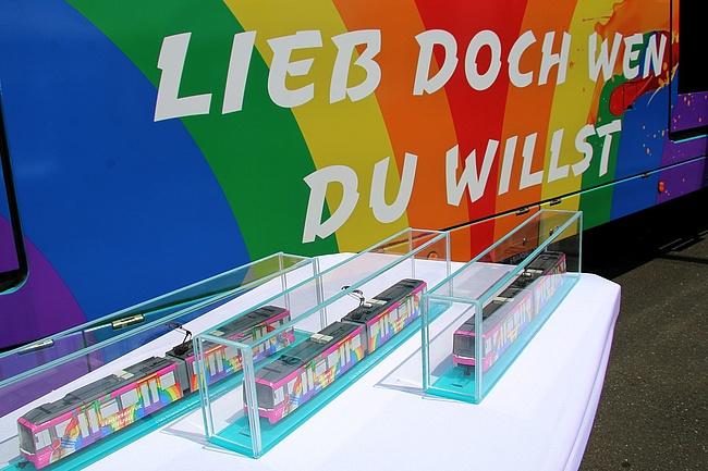 'Bahn der Vielfalt' fährt durch Frankfurt