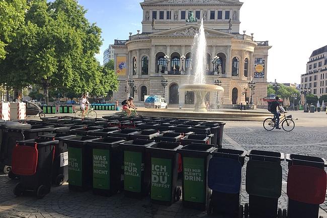 Stadt Frankfurt decides measures after riots on Opernplatz