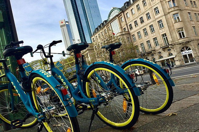 Bike-Sharing in Frankfurt