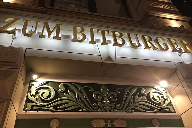 Zum Bitburger - beer tradition and fine bourgeois cuisine in a stylish ambience