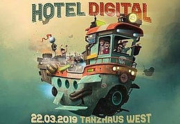 Hotel Digital #Victor Ruiz, Any Mello & Basti Grub
