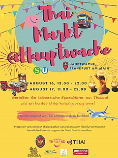 "Festival ""Thai Market Square"" an der Hauptwache"