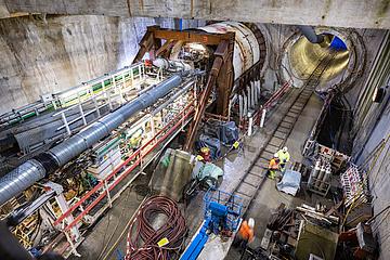 U5-Verlängerung ins Europaviertel – Arbeiten an der zweiten Röhre haben begonnen