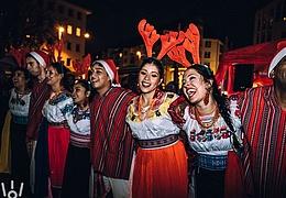 Lateinamerikanischer Weihnachtsmarkt