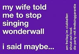 Shout out loud!