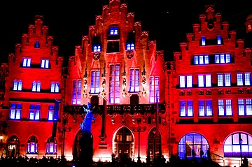 Night of Light in Frankfurt - Shining Appeal to Save the Event Industry
