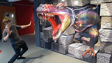 Trick Art Hero - 3D Museum kommt nach Frankfurt