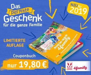 Shopping4Family – RheinMain4Family Freizeitguide mit Coupons