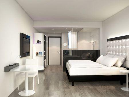 stylishes designhotel im frankfurter ostend. Black Bedroom Furniture Sets. Home Design Ideas