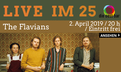 The Flavians Live im 25 Oost Bar