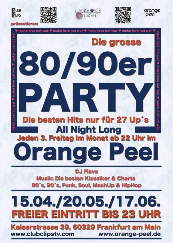 80er Party Frankfurt