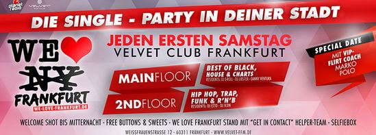 We love frankfurt single party HIT RADIO FFH Webradio