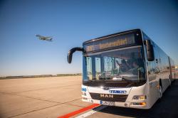 Frankfurt Airport Rundfahrten - Comeback of the popular excursion destination Photo: Fraport AG