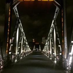 Der Eiserne Steg - Eine der bekanntesten Fußgängerbrücken Deutschlands