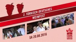 2. Türkisch-Deutsches Weinfest im Frankfurter Garten