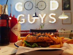The Good Guys make Good Burger