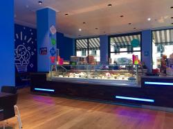 The AROMA ice cream factory now also inspires Frankfurt