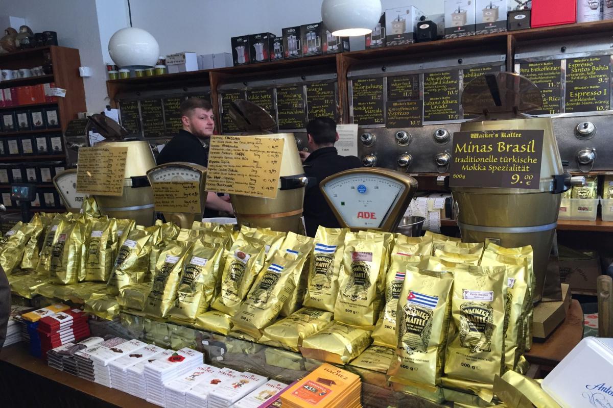 Wackers Kaffee Frankfurt