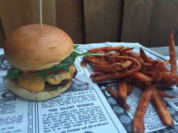 Delicious burgers at Bullys Burger