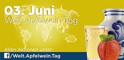 Welt-Apfelwein-Tag am 03. Juni 2014
