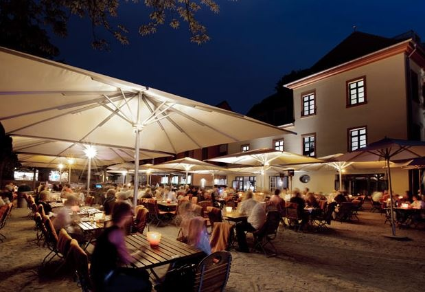 Neuer 246 Ffnung Biergarten Am Mainufer