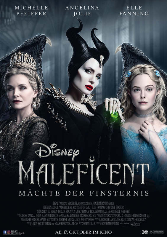 Maleficent 2 Powers Of Darkness Usa 2019