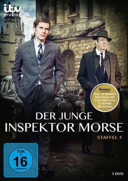 Der junge Inspektor Morse – Staffel 5 –DVD