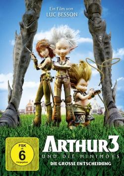 Arthur und die Minimoys 3: Die grosse Entscheidung – DVD