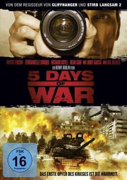 5 Days of War – DVD
