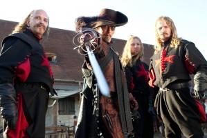 Die drei Musketiere – 3D